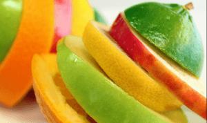 Frutas con fitoquímicos