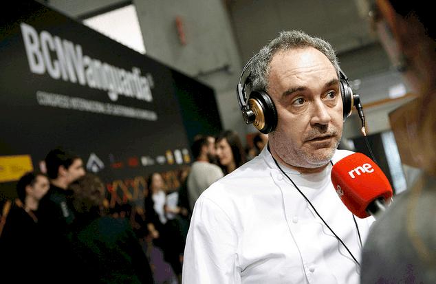 Ferran Adriá en Alimentaria 2010