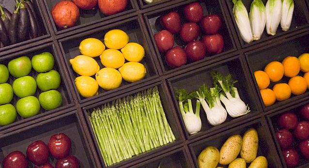 Frutas y verduras: alto contenido en fitoquímicos