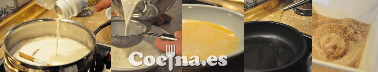 Receta de las torrijas: preparar ingredientes