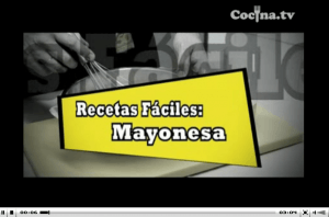 Receta de la mayonesa casera