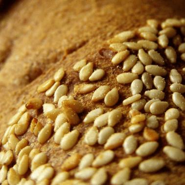 Pan con sésamo