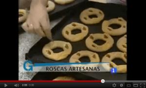 Vídeo sobre la elaboración de las roscas de alfajor