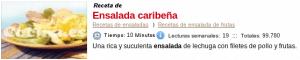 Ensalada caribena en Cocina.es