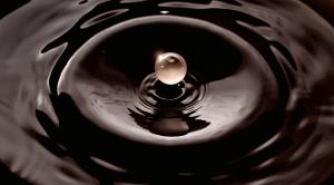 Chocolate negro líquido