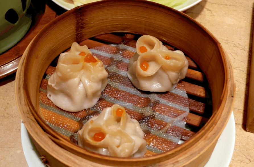 Dim-Sum japoneses cocinados al vapor