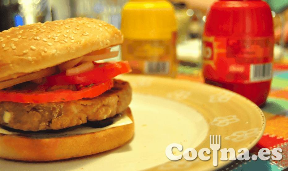 Hamburguesa casera en Blogcocina.es