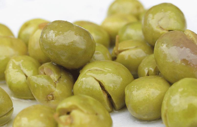 Aceitunas, materia prima para la obtención del aceite de oliva