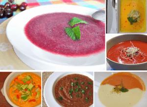Recetas de gazpachos