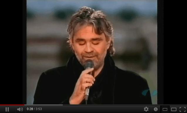 Bésame mucho (versión de Andrea Bocelli)