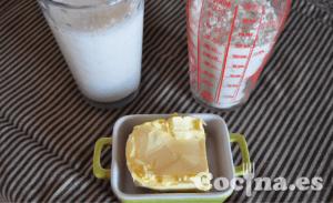 Ingredientes de la salsa bechamel casera
