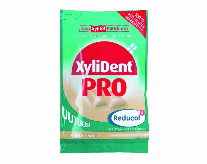 Xylident, el chicle que baja el colesterol