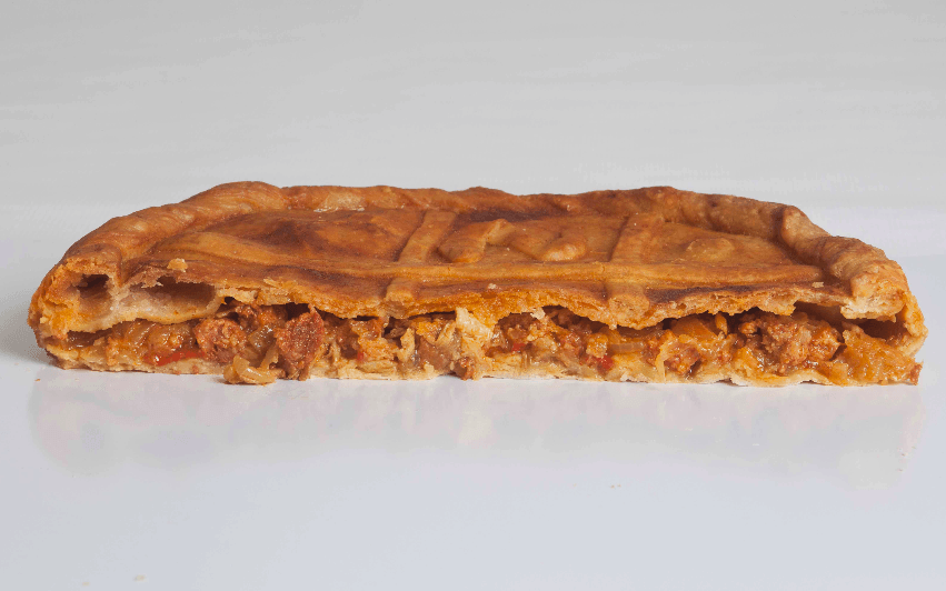 empanada de zorza de Milan Dopico