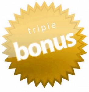 Triple bonus de recetas de cenas