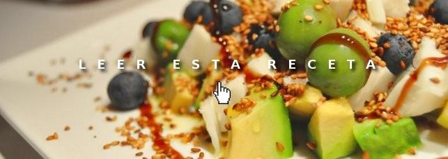 Cenas fáciles: ensalada de aguacate