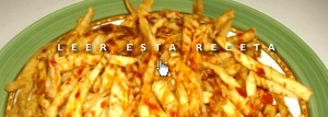 Cenas fáciles: falsas patatas fritas light