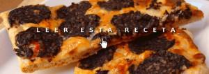 Cenas fáciles: pizza de morcilla