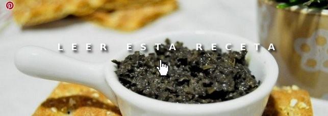 Cenas fáciles: tapenade de aceitunas negras