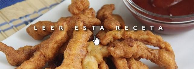Cenas fáciles: tiras de pollo almendrado