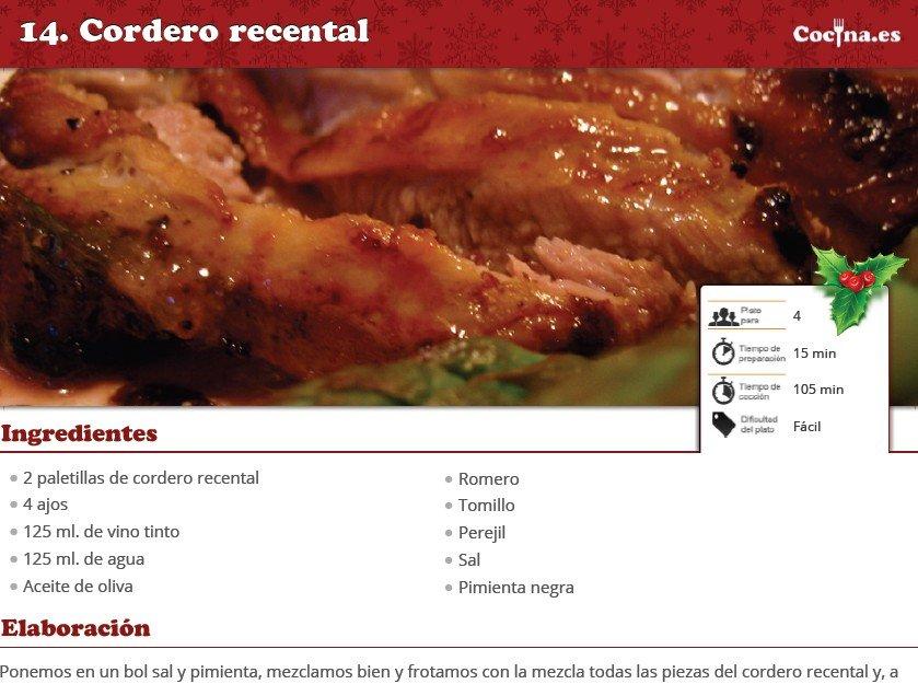 Las recetas de Navidad en PDF de Cocina.es