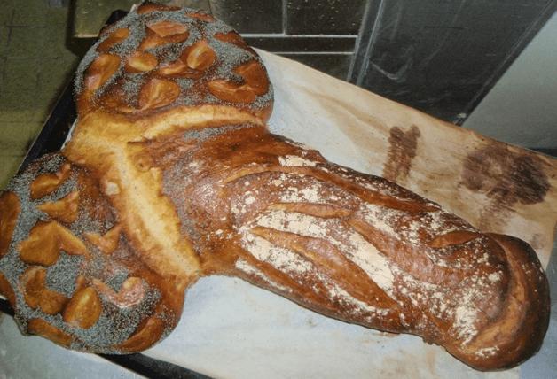 Pan con forma de pene de Legay Choc