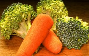 Zanahorias y brócili