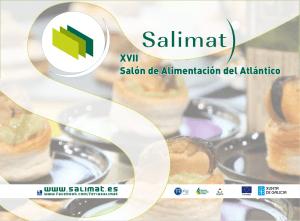 Cartel del XVII Salón de Alimentación del Atlántico, Salimat 2013.