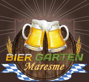Cartel del BierGarten Maresme 2013