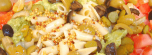 Ensalada de pasta a la mostaza