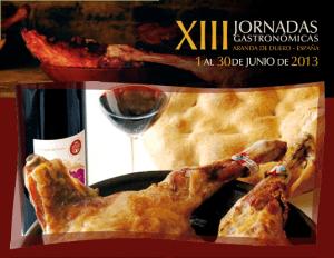 Cartel de las XIII Jornadas Gastronómicas del Lechazo Asado