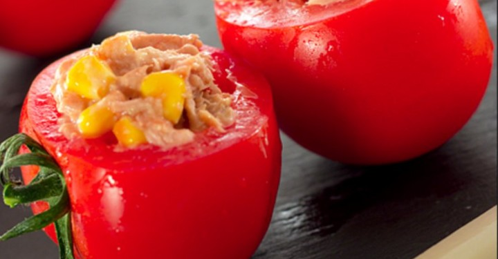 Recetas sin cocinar - Tomates rellenos
