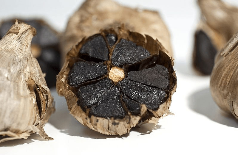 ajo negro - black garlic