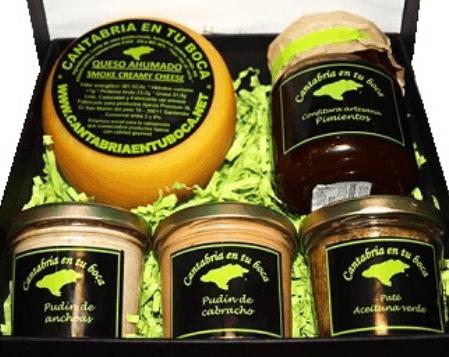 lote de productos cantabria