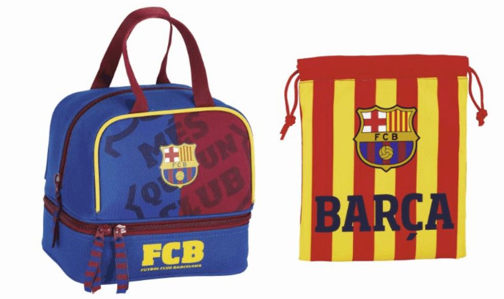 Sandwichera + portameriendas del F.C. Barcelona