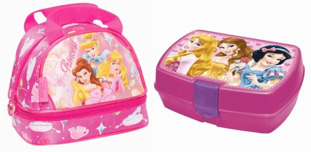 Sandwichera + portameriendas de Princesas Disney