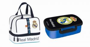 Sandwichera + portameriendas del Real Madrid