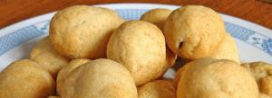 Bolitas de patata rellenas