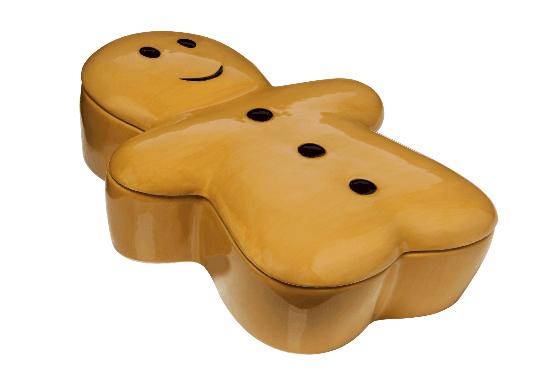 Caje de galletas metálica