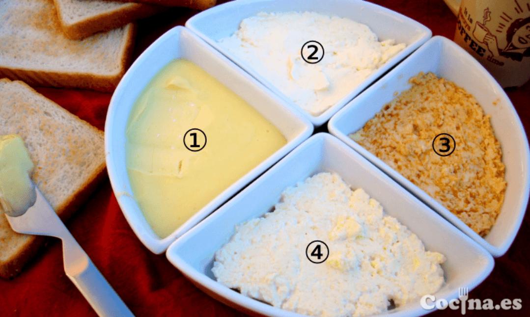Mantequilla facil de untar casera