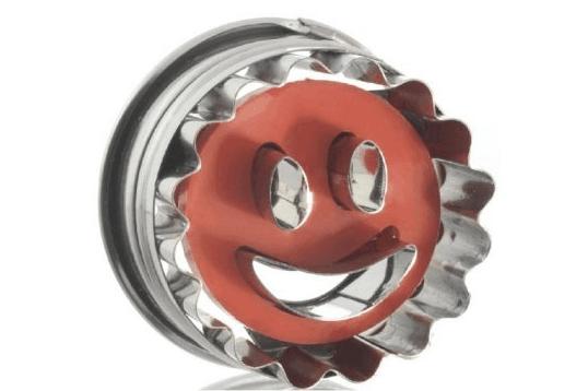 Molde para galletas Smile