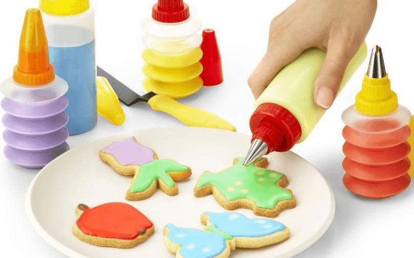 Set de utensilios para decorar galletas