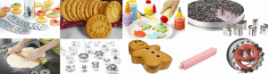 Utensilios para hacer galletas decoradas
