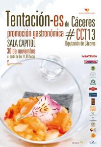 Cartel de Tentación-es Cáceres 2013