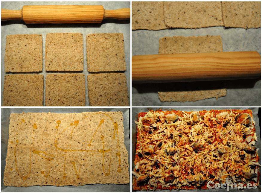 Cómo hacer masa de pizza paso a paso con masa de molde