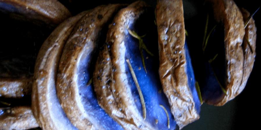 patatas azules