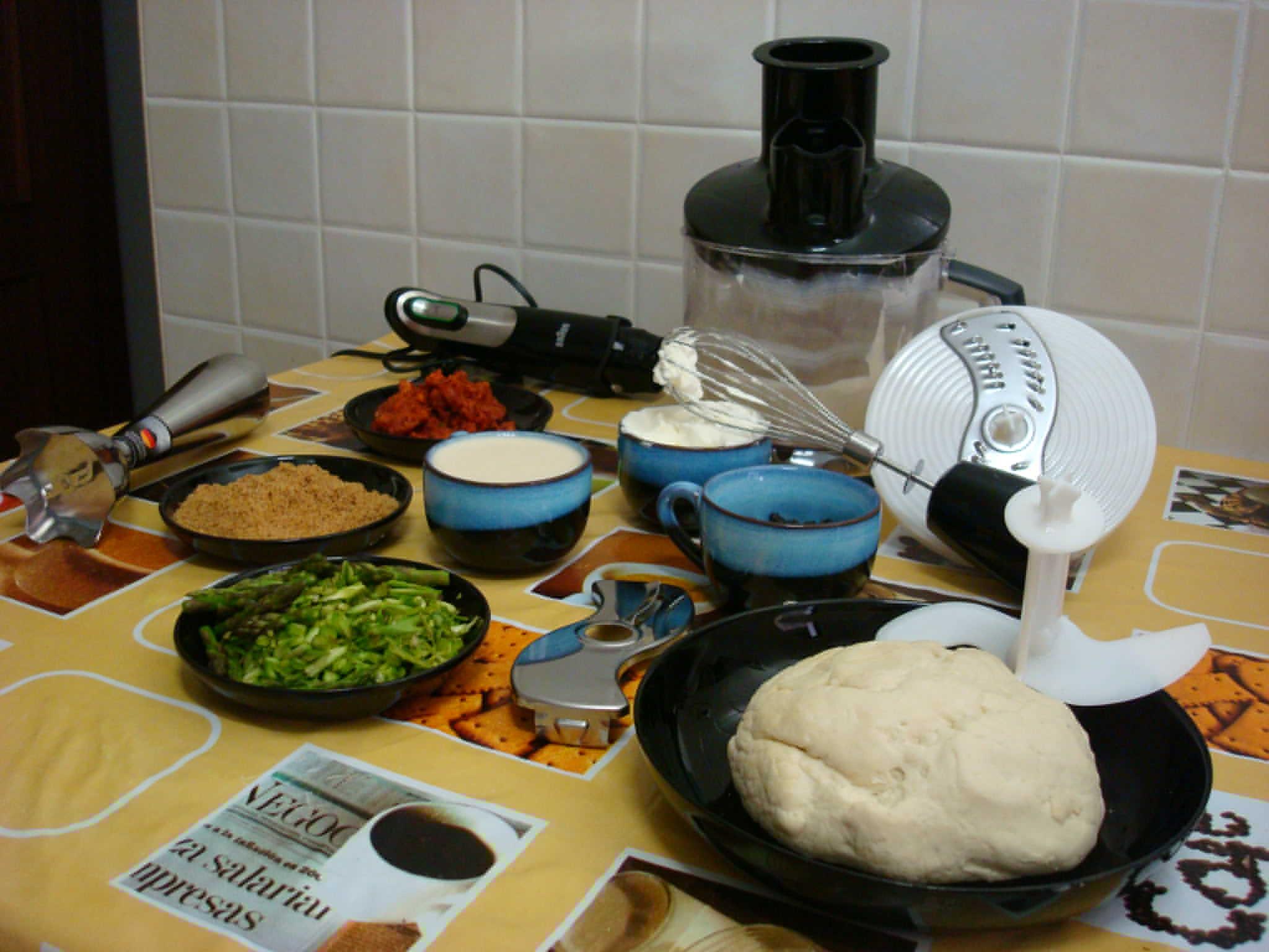 Ingredientes preparados en pocos minutos con la ayuda de la Minipimer 7