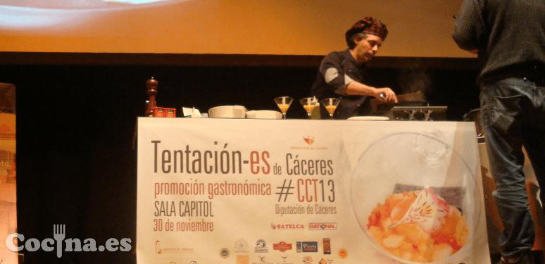 Show cooking en Tentación-es 2013.