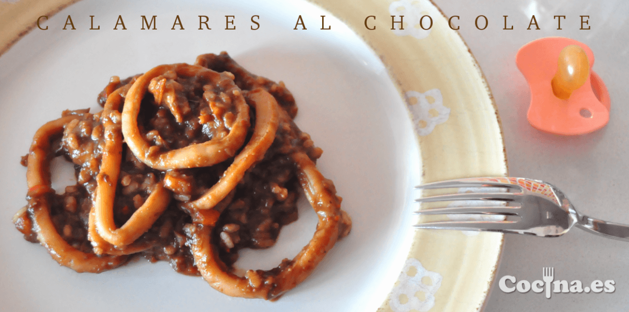 Calamares al chocolate