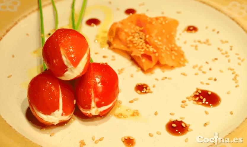 Tulipanes con queso para San Valentín