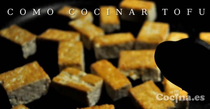 C mo cocinar tofu recetas con tofu - Como se cocina el tofu ...